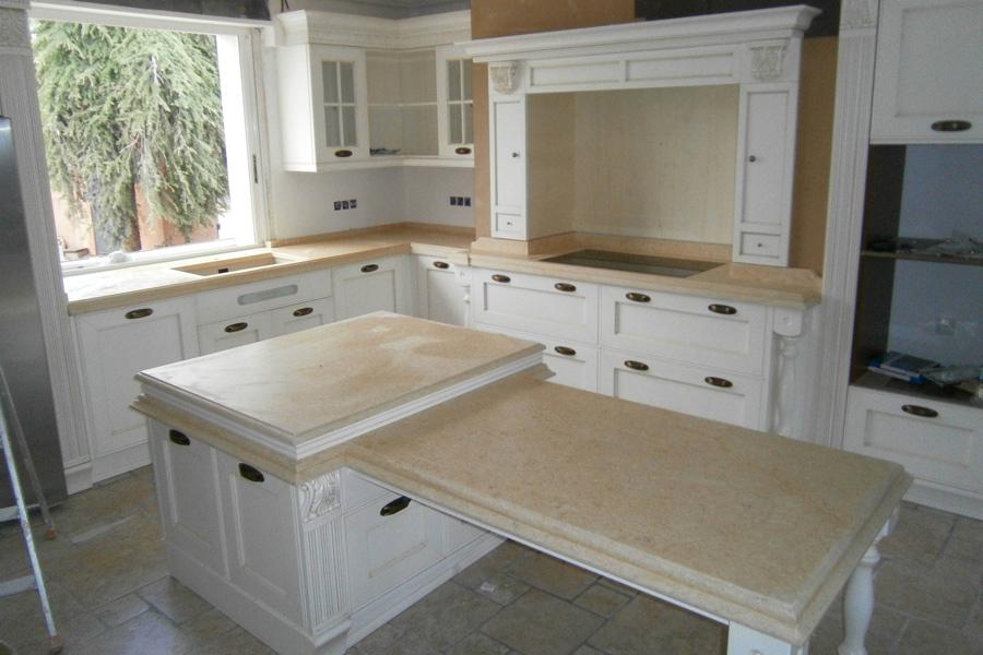 Cucina in marmo Veduggio con Colzago - Perego Attilio & C snc ...
